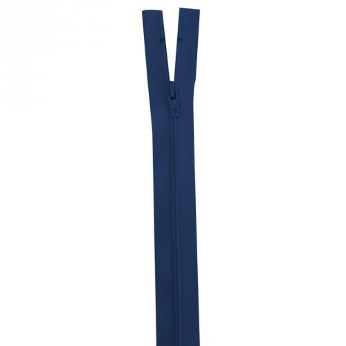 Fermeture bleu foncé 40 cm non séparable col 039