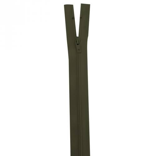 Fermeture vert kaki 25 cm non séparable col 305