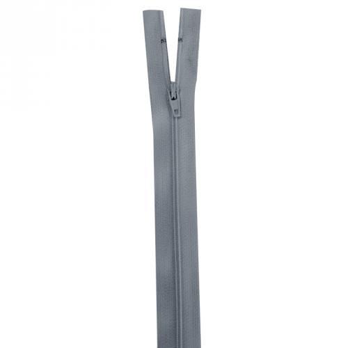 Fermeture gris foncé 35 cm non séparable col 578