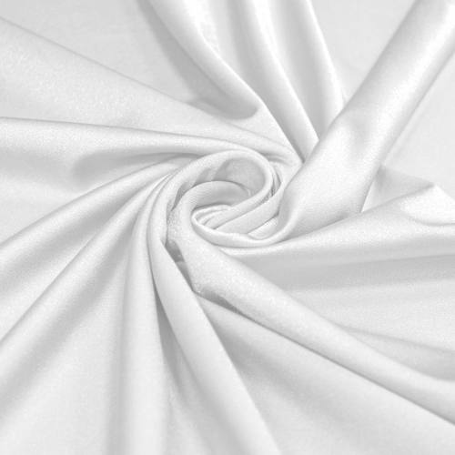 Lycra maillot de bain blanc scintillant