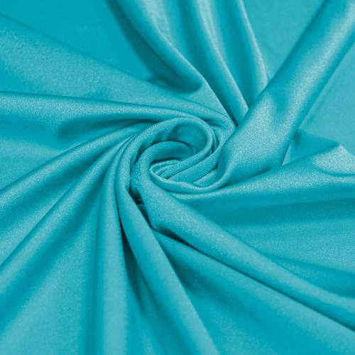 Lycra bleu turquoise scintillant