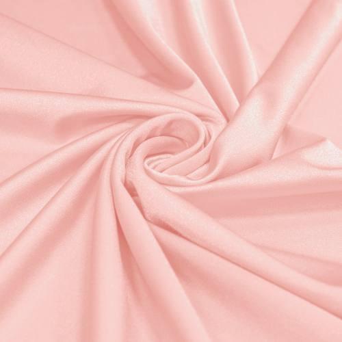 Lycra rose pastel scintillant