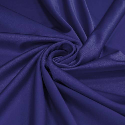 Lycra bleu indigo scintillant
