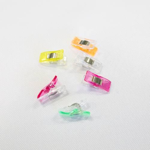 Pinces pour tissu multicolores x50