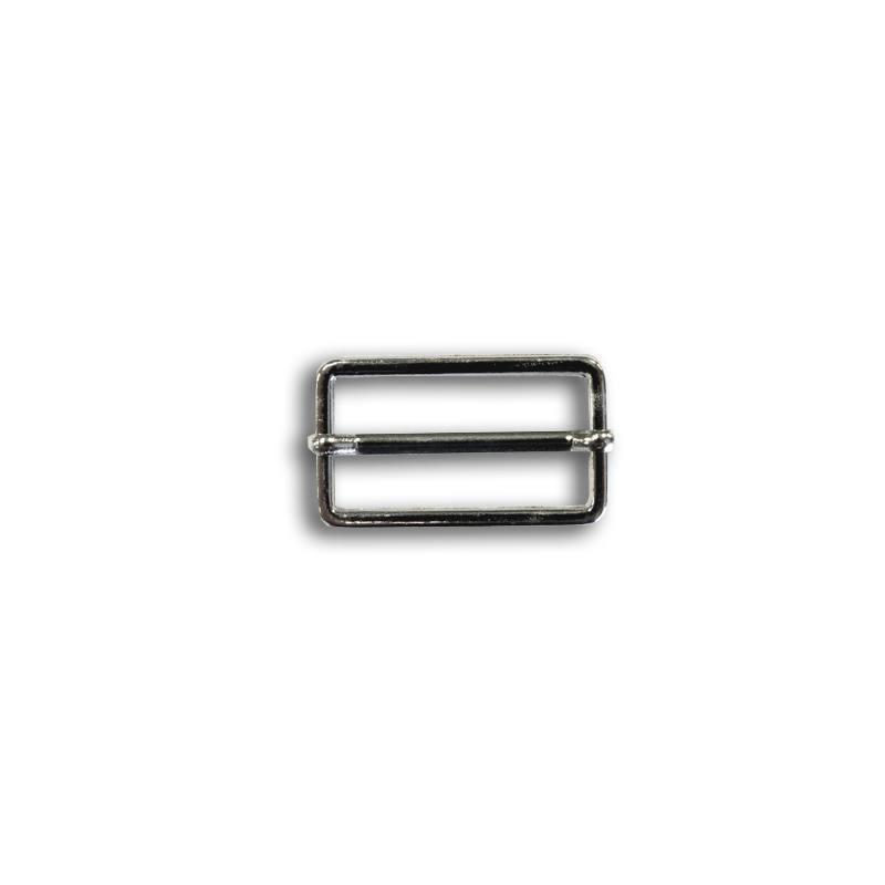 Boucle de réglage argent 30 mm