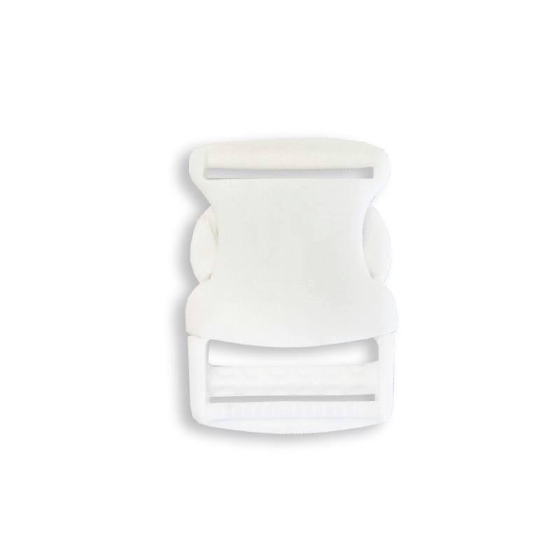 Boucle pour sangle blanche taille 40 mm