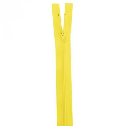 Fermeture jaune 40 cm non séparable col 504