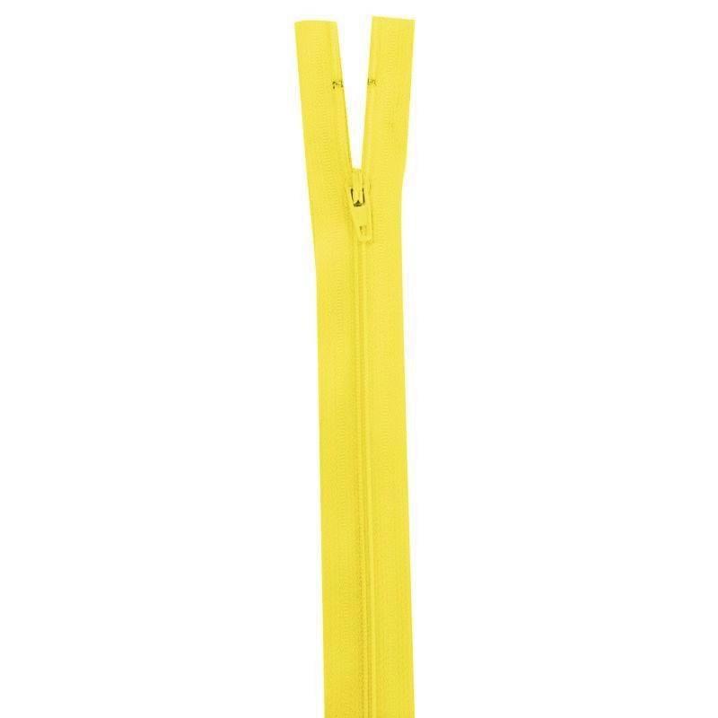 Fermeture jaune 15 cm non séparable col 504