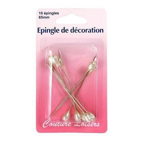 Epingles de décoration X10