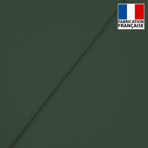 Popeline de coton mercerisé vert sapin