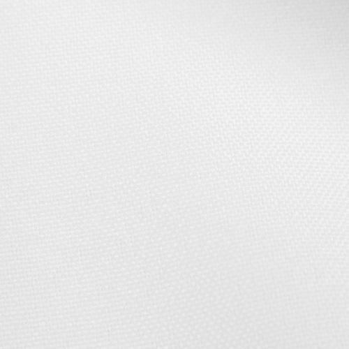 Rouleau 21m burlington infroissable Oeko-tex blanc