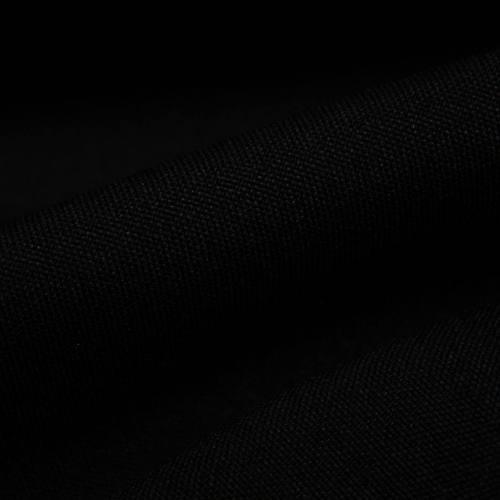 Rouleau 21m burlington infroissable Oeko-tex noir