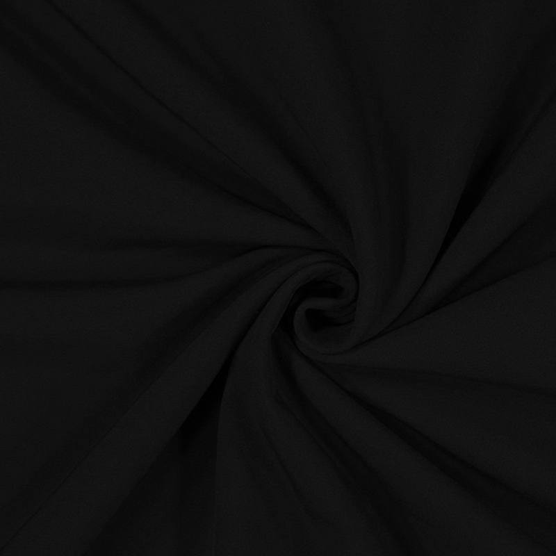 Tissu softshell noir stretch