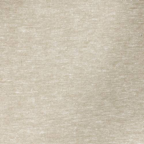 Tissu lin et viscose uni sable