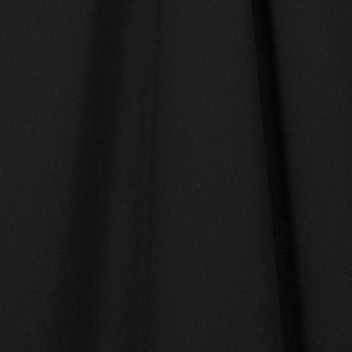 Tissu crêpe noir