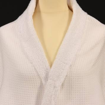 coupon - Coupon 80cm - Eponge blanc - double face nid d'abeille