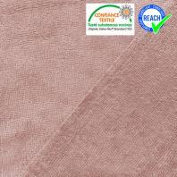 Tissu éponge bambou vieux rose