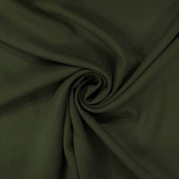 Tissu microfibre twill vert mélèze