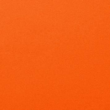 Coton uni couleur orange