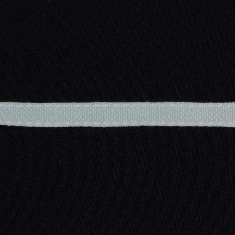 Galon tiret bleu clair 1 cm