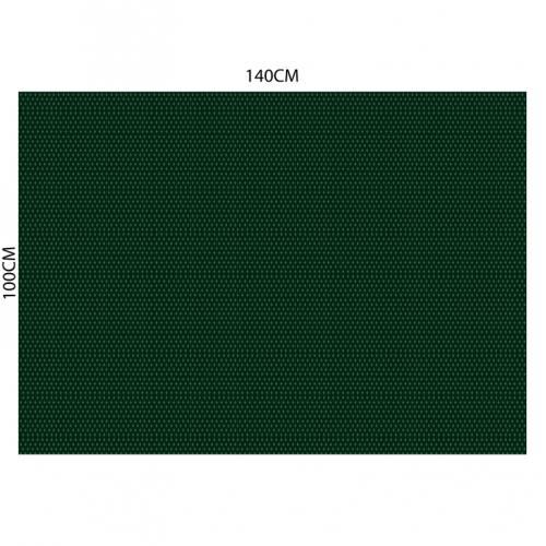 Velours ras vert anglais motif poinçon de lys vert clair