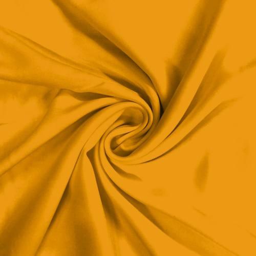 Viscose unie couleur safran
