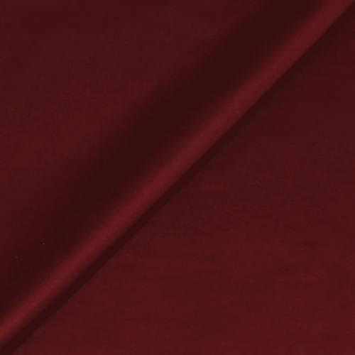 Simili touché cuir mat rouge bourgogne