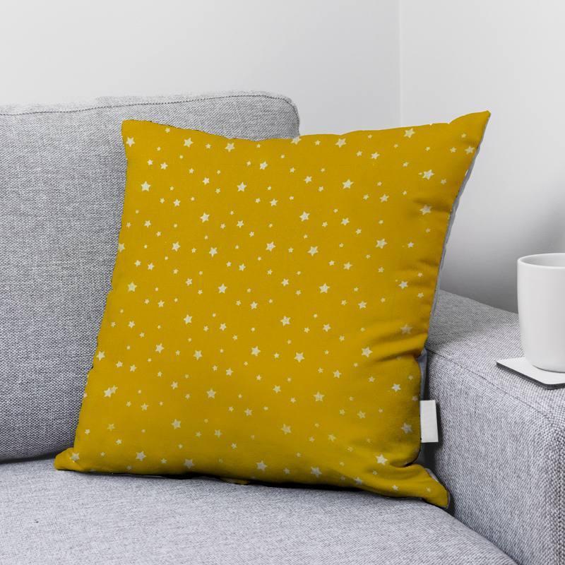 Coton zetoile couleur ocre