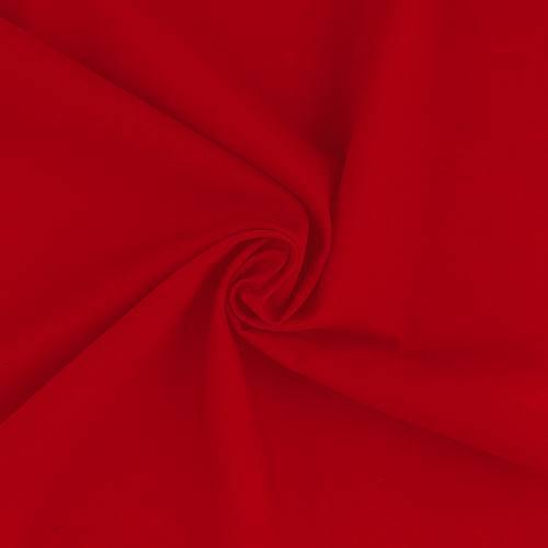 Voile de coton rouge grande largeur sweetie