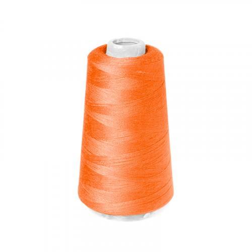Cône de fil à surfiler et à coudre orange