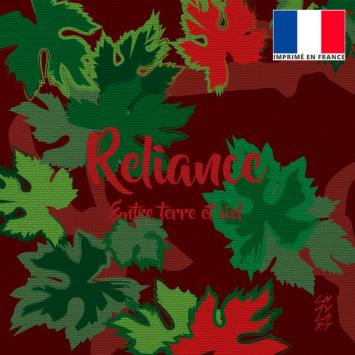 Coupon 45x45 cm toile canvas Reliance - Création Chaylart