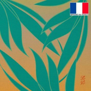 Coupon 45x45 cm toile canvas Harmonie - Fond - Création Chaylart