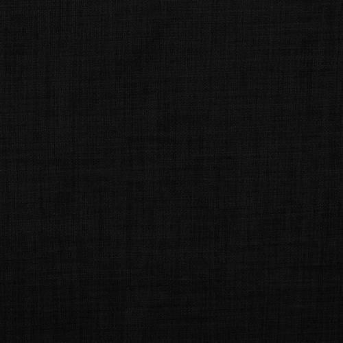 Tissu aspect lin noir