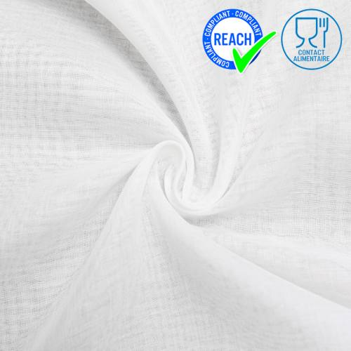 Mousseline de coton spéciale contact alimentaire