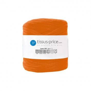 Bobine de fil trapilho orange de 750g