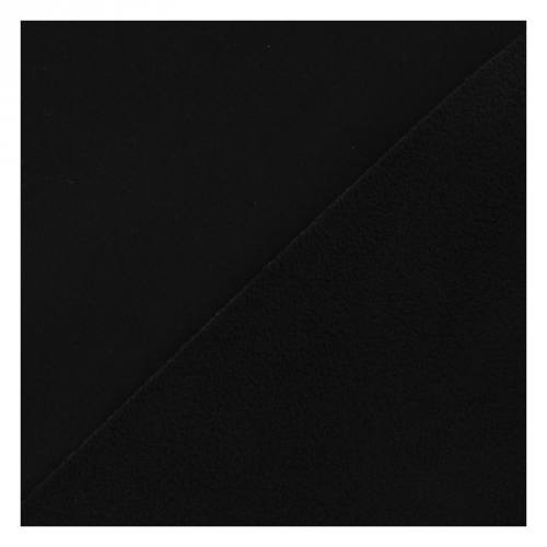 Tissu softshell strech noir