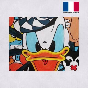 Coupon 27x21 cm - Toile canvas duck - Création Anne-Sophie Dozoul