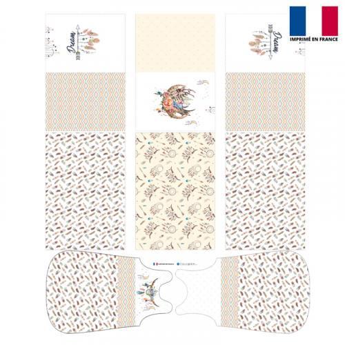 Coupon motif boho - Gigoteuse et Tour de Lit