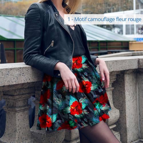 Kit jupe à coudre Collection Automne - Velours d'habillement