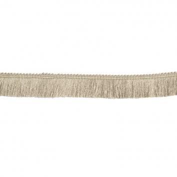 Galon franges fil lin 30 mm