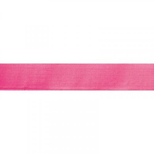 Elastique ceinture 40 mm rose fluo