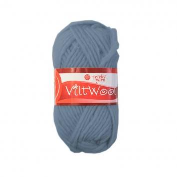 Pelote 100% laine bleu