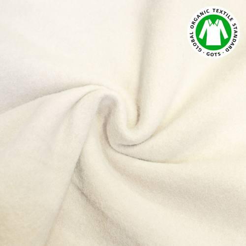 Tissu molleton chanvre et coton bio
