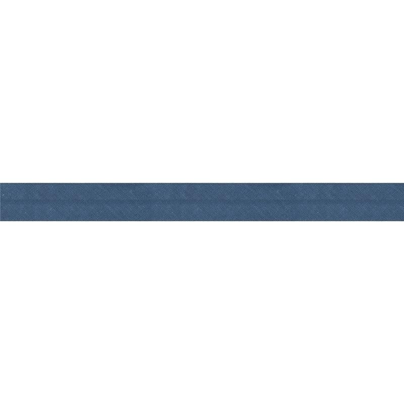 Bobine de biais 20 M - bleu jean 79