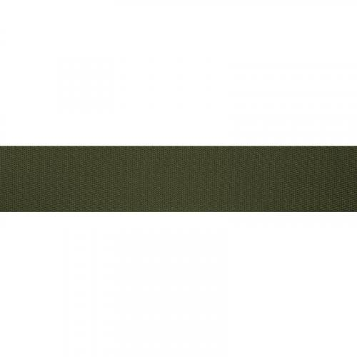 Sangle polyester vert militaire 35 mm