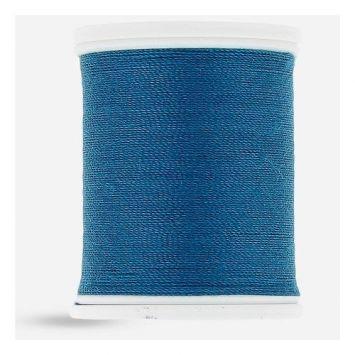 Fil à coudre résistant bleu canard 1096