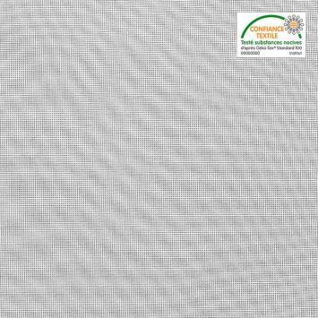 Tissu moustiquaire blanc