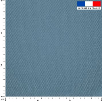 Tissu imperméable bleu jean uni