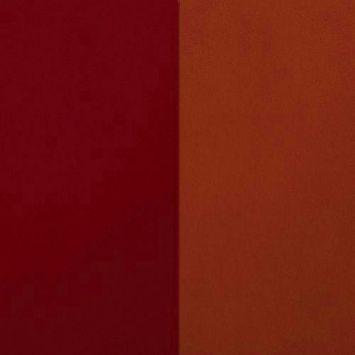 Suédine alaska réversible orange/brique