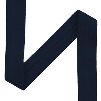 Biais jersey bleu nuit 20mm